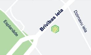 Brivibas40 kaart
